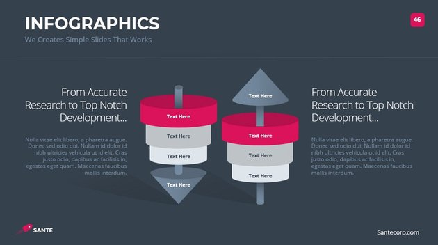 Sante Infographic Template PowerPoint