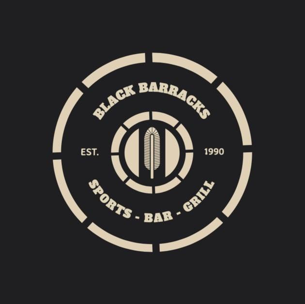 Bar Logo Maker with Circular Badge
