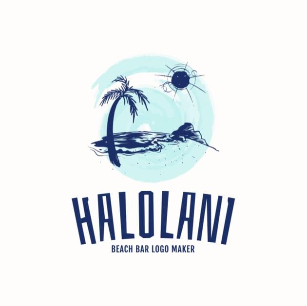 Beach Bar Logo Maker