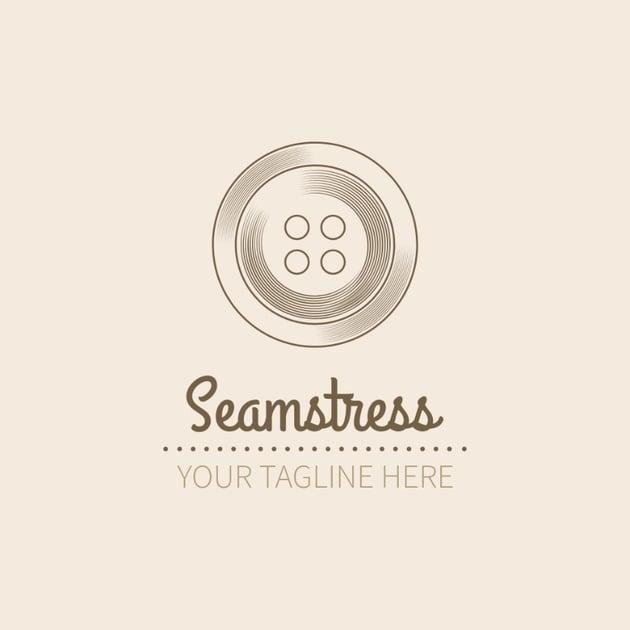 Seamstress Logo Design