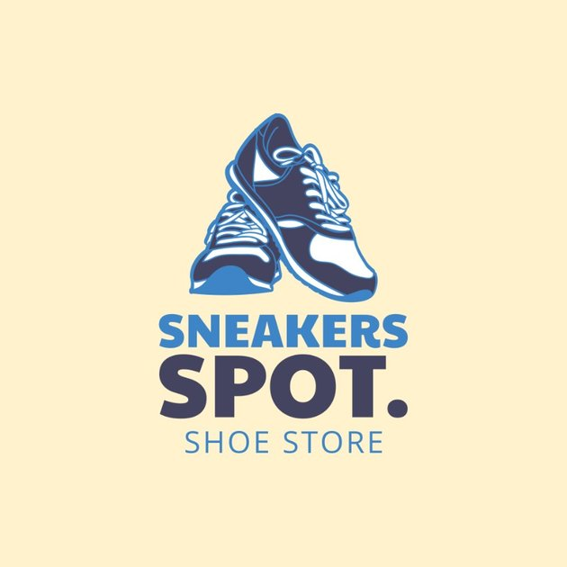 Logo Maker for Tennis Shoes Stores