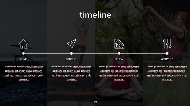 The Timeline Slide