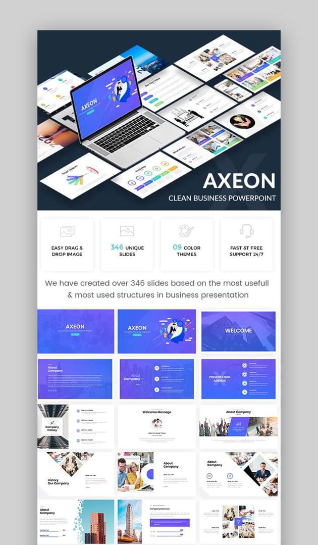 Axeon Clean Business PowerPoint