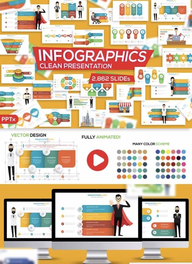 Big - Infografias PowerPoint