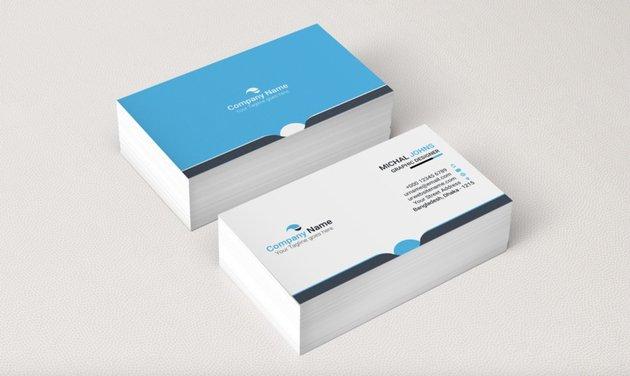 Earth Tones Free Business Cards
