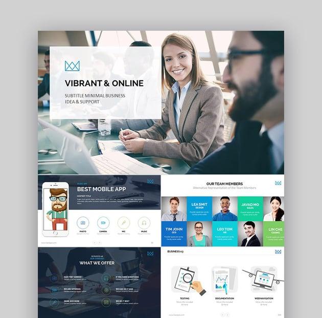 PowerPoint-Vorlagen für Unternehmen