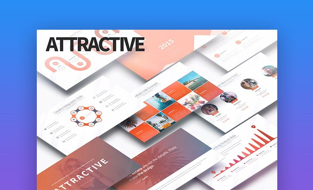 Attractive Aesthetic PowerPoint Template