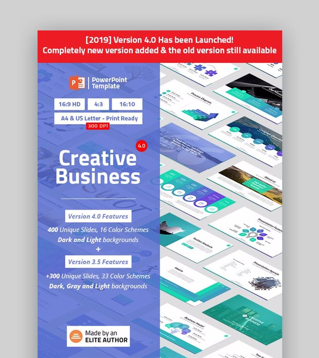 Creative Business Infographic Template PowerPoint