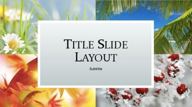 Nature PPT Free PowerPoint Templates