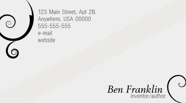 Free Business card templates Photoshop PSD