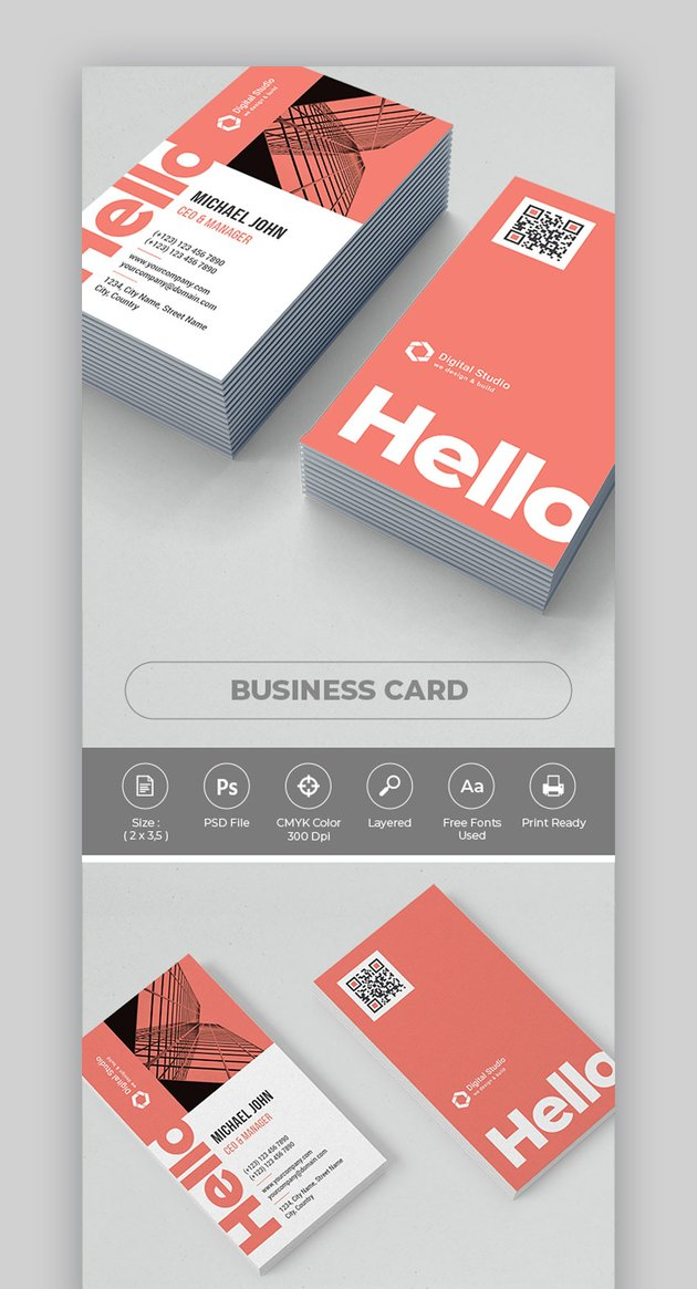 Business Card Photoshop