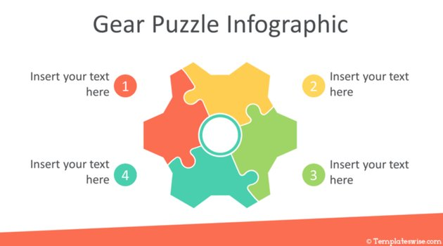 PowerPoint puzzle template PPT