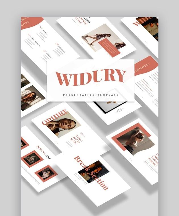 Widury Minimalist Presentation