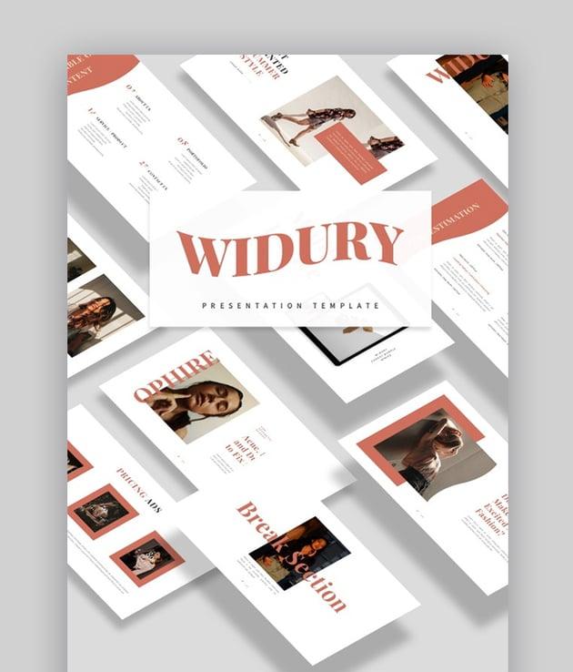 Widury Design Ideas for PowerPoint
