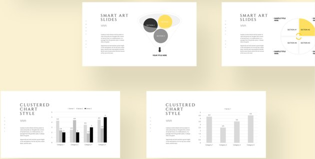Keynote Infographic template free