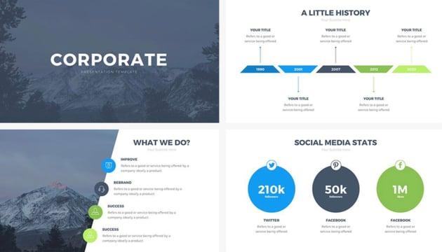 Free Infographic Templates Keynote