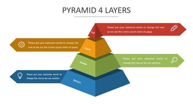 PowerPoint Pyramid template