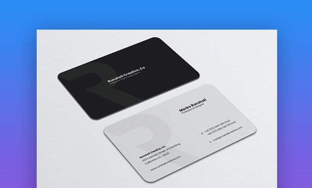 Minimalist Business Card Vol 50