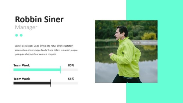 Best Colors for PowerPoint Presentation Neon