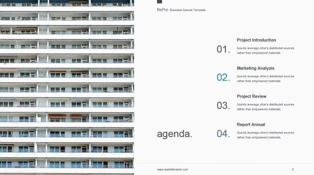 Projekt-Roadmap in professionellen PowerPoint-Themen