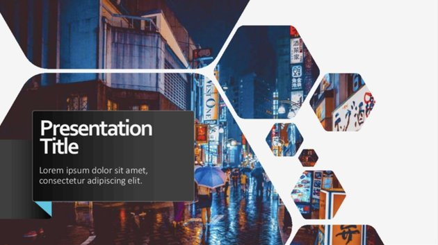 Geometric Presentation Best PowerPoint Template Free Download