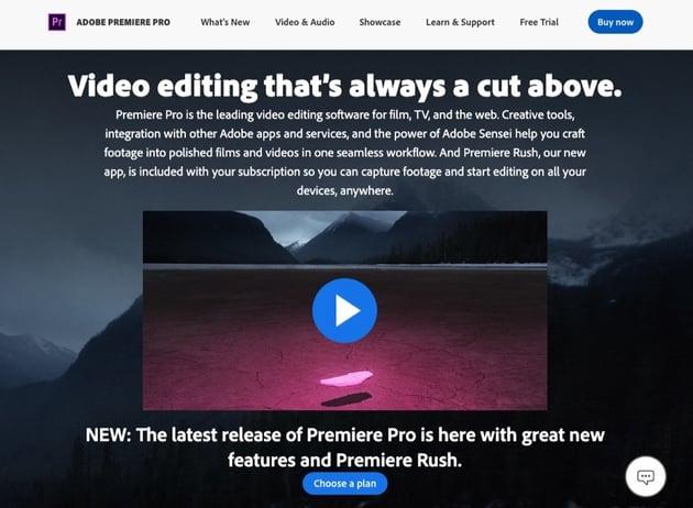 Adobe Creative Cloud subscription