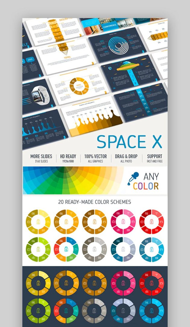 PowerPoint space theme