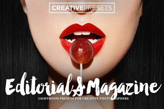 Lightroom editorial preset