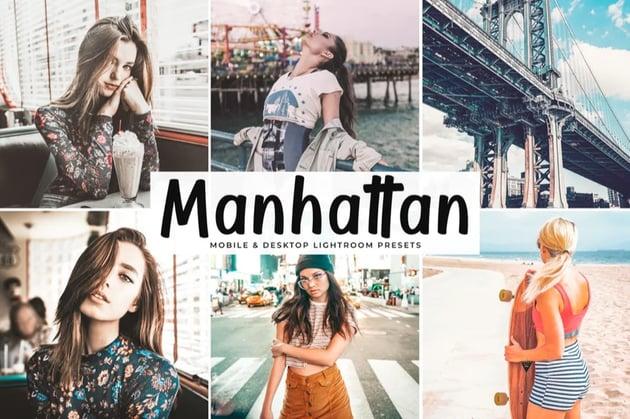 Manhattan Mobile Lightroom Preset