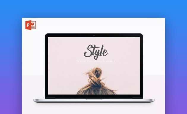 Style multipurpose PowerPoint Slide