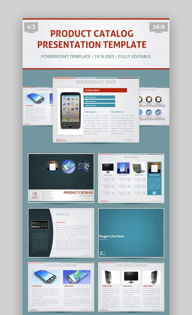 PowerPoint brochure template