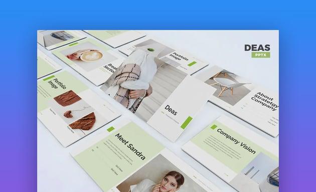 Deas PowerPoint template