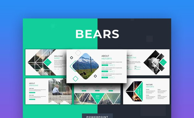 Bears PowerPoint template