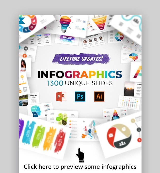 Infographic PowerPoint background image