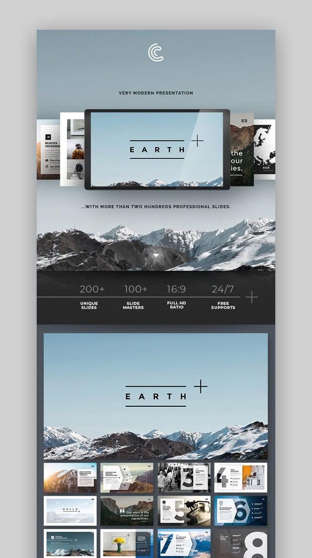 Earth Keynote Template