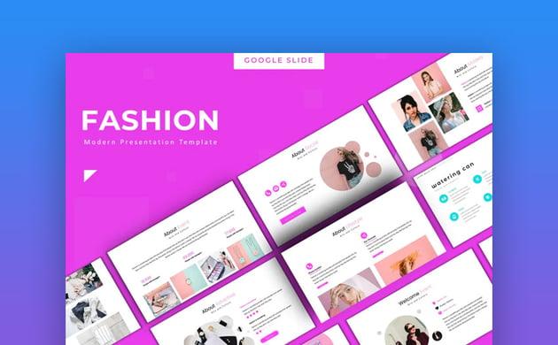 Fashion Custom Google Slides template
