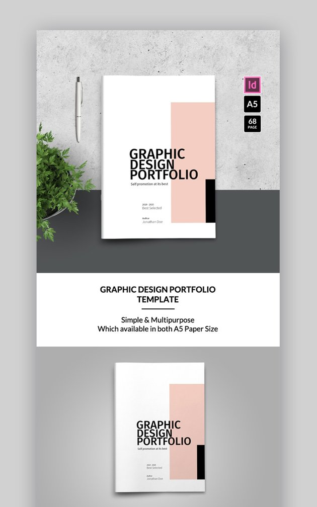 New Product brochure template