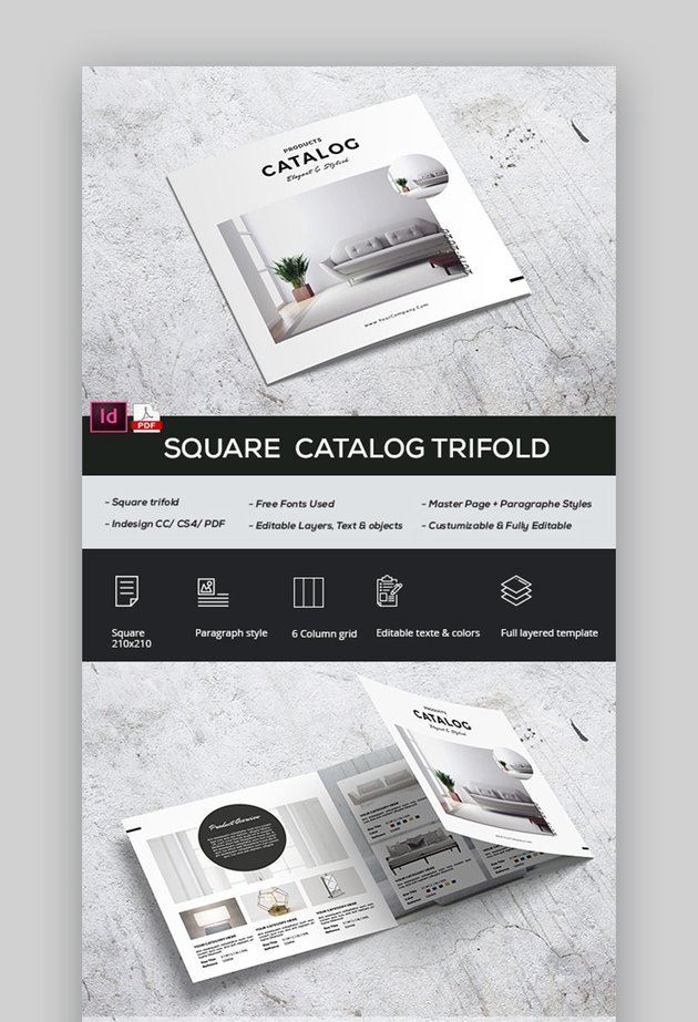 Modern Product Brochure templates