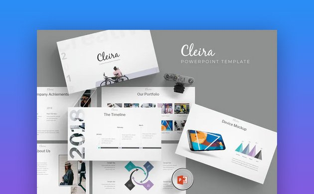 Cleira awesome PPT design