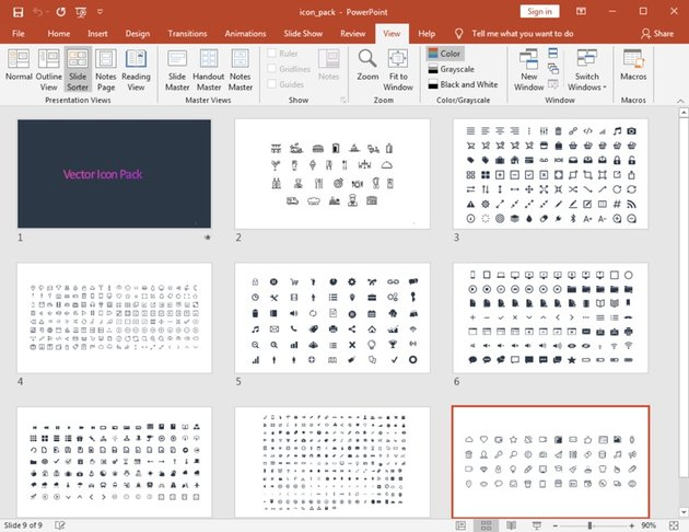 Icons in PowerPoint