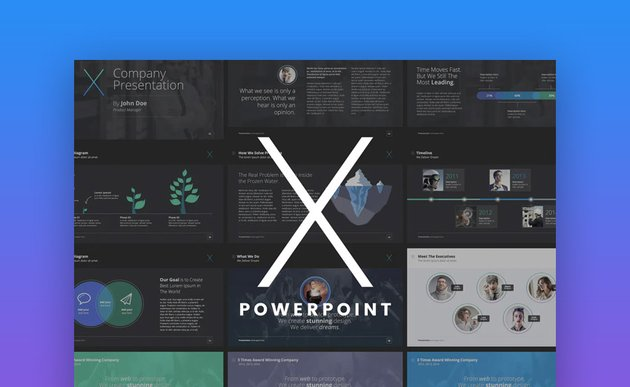 The X Note PowerPoint Design