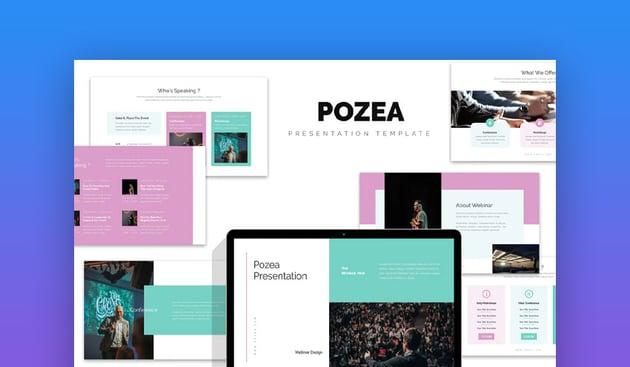 Pozea Webinar Slides Template