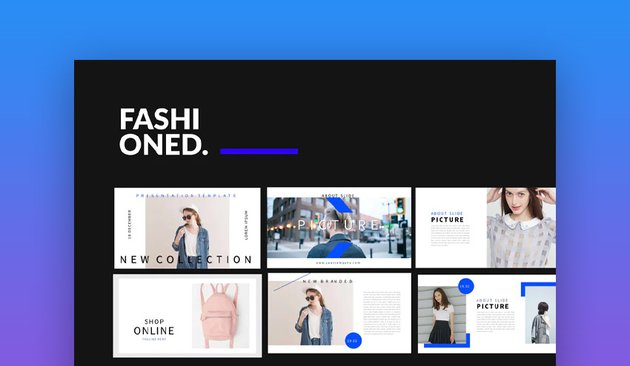 Envato Elements Fashioned Stylist PowerPoint