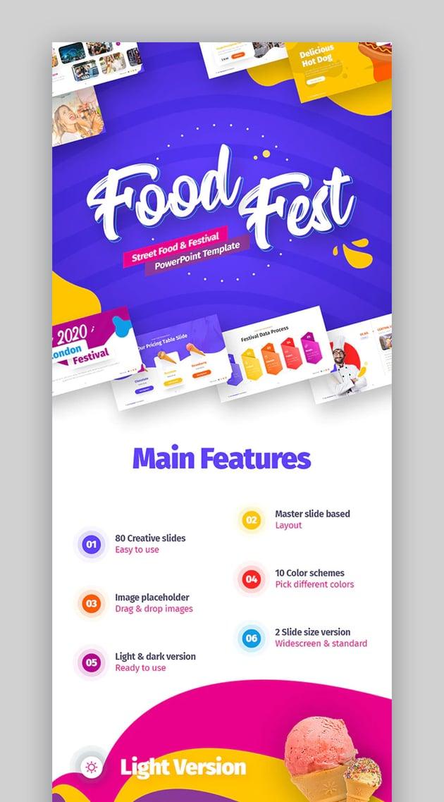Foodfest restaurant menu template