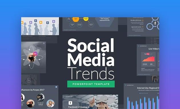 Social media advertising PowerPoint presentation
