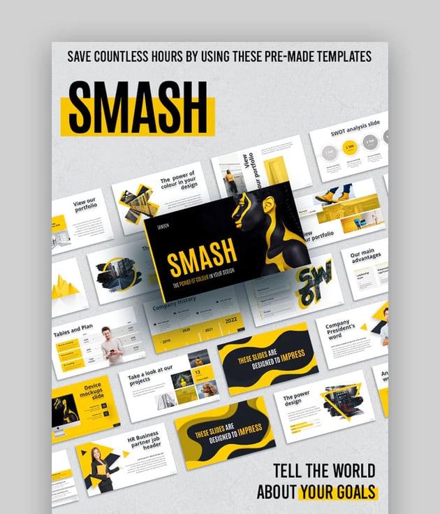 Smash PPT animado