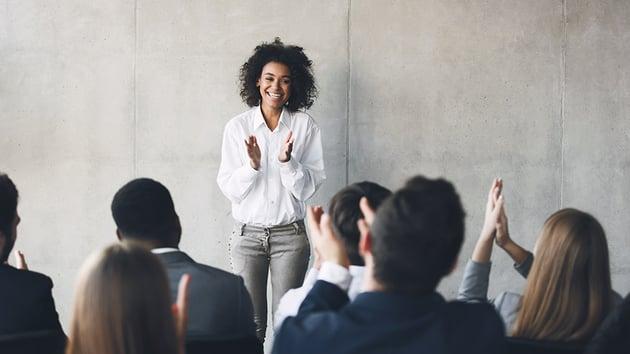Presentation room energy