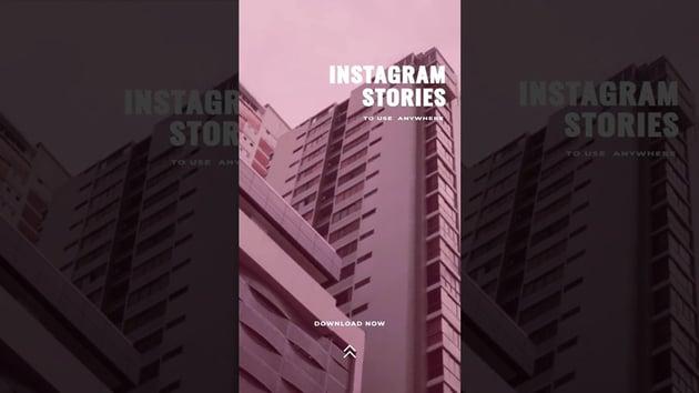 Vintage Free Premiere Pro Instagram Story Template