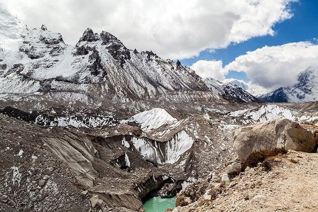 Climate change glacier