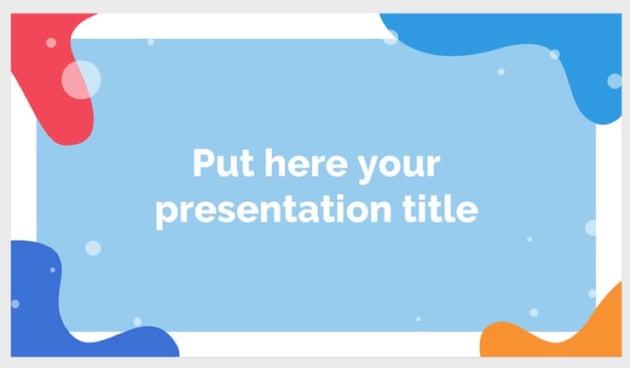 Punaca free Keynote templates